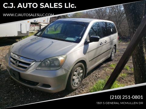 2007 Honda Odyssey for sale at C.J. AUTO SALES llc. in San Antonio TX