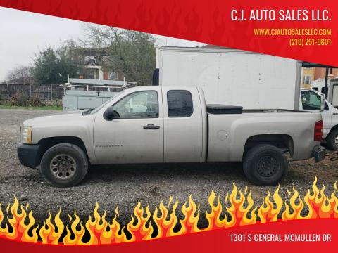 2008 Chevrolet Silverado 1500 for sale at C.J. AUTO SALES llc. in San Antonio TX