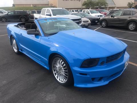 2007 Ford Mustang for sale at C.J. AUTO SALES llc. in San Antonio TX