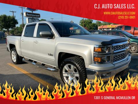2015 Chevrolet Silverado 1500 for sale at C.J. AUTO SALES llc. in San Antonio TX