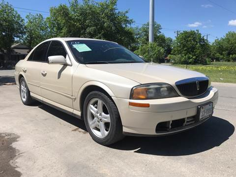 2002 Lincoln LS for sale at C.J. AUTO SALES llc. in San Antonio TX