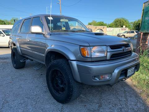 2002 Toyota 4Runner for sale at C.J. AUTO SALES llc. in San Antonio TX