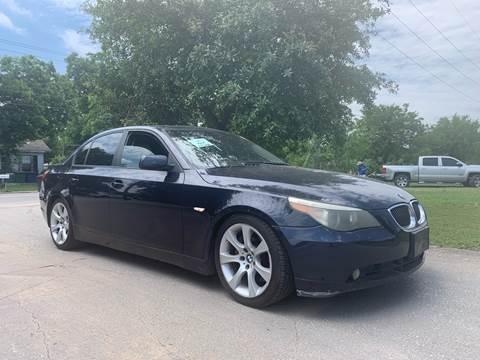 2004 BMW 5 Series for sale at C.J. AUTO SALES llc. in San Antonio TX