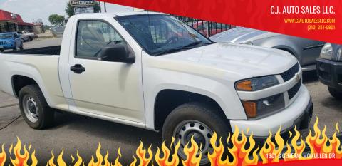 2012 Chevrolet Colorado for sale at C.J. AUTO SALES llc. in San Antonio TX