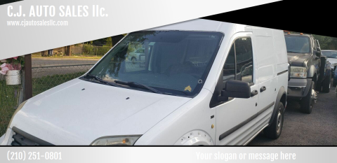 2011 Ford Transit Connect for sale at C.J. AUTO SALES llc. in San Antonio TX