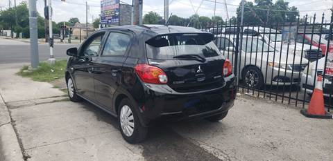 2015 Mitsubishi Mirage for sale at C.J. AUTO SALES llc. in San Antonio TX