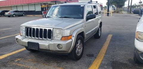 2008 Jeep Commander for sale at C.J. AUTO SALES llc. in San Antonio TX