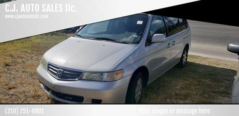 2003 Honda Odyssey for sale at C.J. AUTO SALES llc. in San Antonio TX
