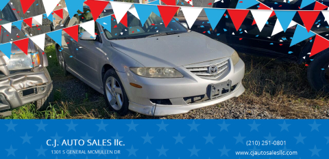 2003 Mazda MAZDA6 for sale at C.J. AUTO SALES llc. in San Antonio TX