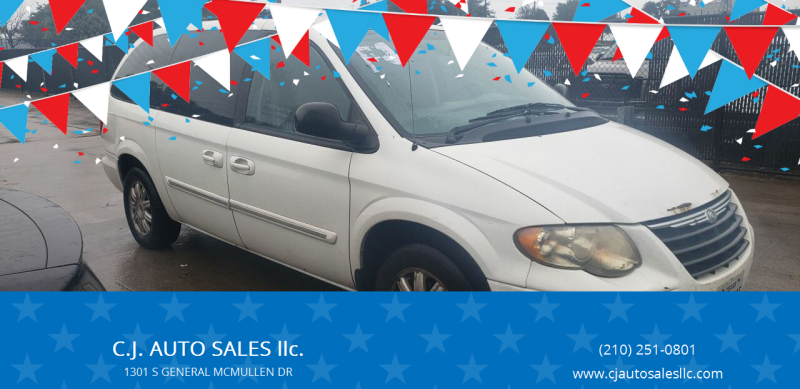 2007 Chrysler Town and Country for sale at C.J. AUTO SALES llc. in San Antonio TX