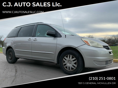 2005 Toyota Sienna for sale at C.J. AUTO SALES llc. in San Antonio TX