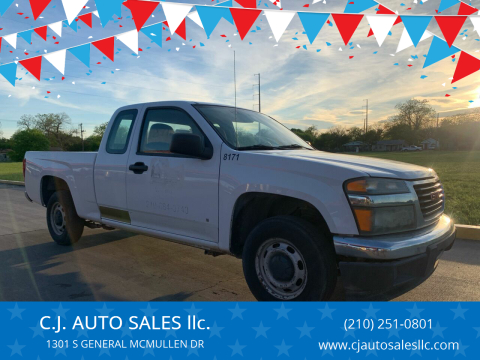 2007 GMC Canyon for sale at C.J. AUTO SALES llc. in San Antonio TX