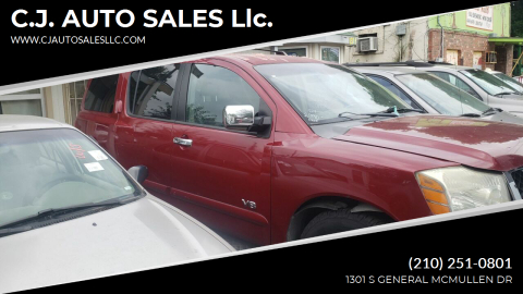 2007 Nissan Armada for sale at C.J. AUTO SALES llc. in San Antonio TX