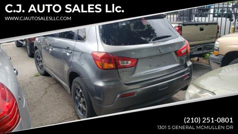 2011 Mitsubishi Outlander Sport for sale at C.J. AUTO SALES llc. in San Antonio TX