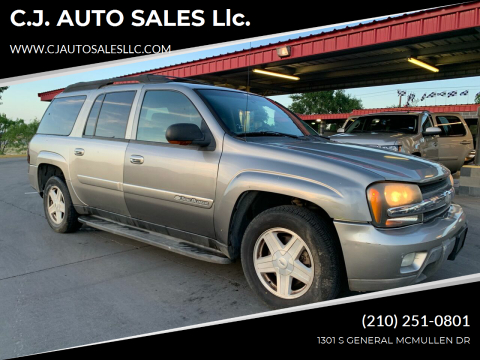2003 Chevrolet TrailBlazer for sale at C.J. AUTO SALES llc. in San Antonio TX