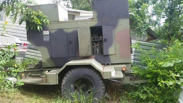 2015 Military Diesel Generator 35Kw  Caterpillar In San