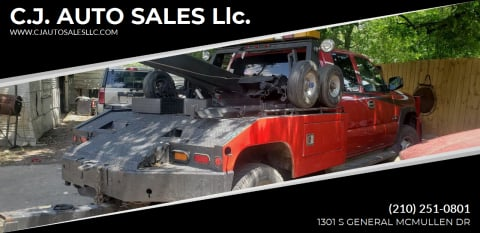 2005 Chevrolet Silverado 3500 for sale at C.J. AUTO SALES llc. in San Antonio TX