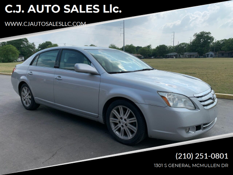 2006 Toyota Avalon for sale at C.J. AUTO SALES llc. in San Antonio TX