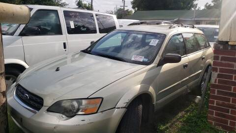 2005 Subaru Outback for sale at C.J. AUTO SALES llc. in San Antonio TX