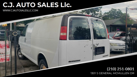 2006 Chevrolet Express Cargo for sale at C.J. AUTO SALES llc. in San Antonio TX