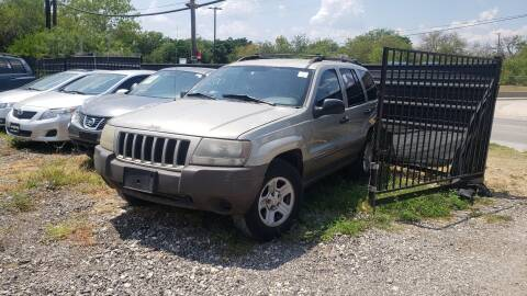 2003 Jeep Grand Cherokee for sale at C.J. AUTO SALES llc. in San Antonio TX