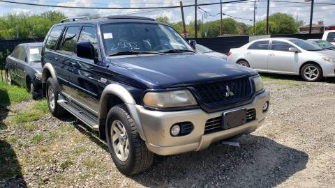 2002 Mitsubishi Montero Sport for sale at C.J. AUTO SALES llc. in San Antonio TX