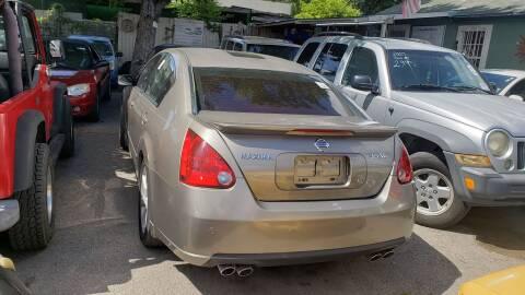 2007 Nissan Maxima for sale at C.J. AUTO SALES llc. in San Antonio TX
