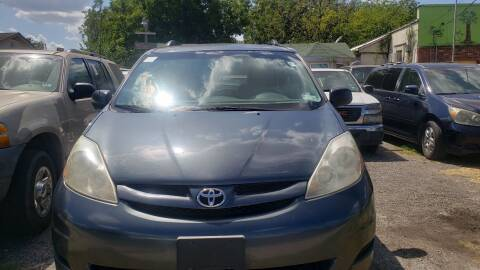 2009 Toyota Sienna for sale at C.J. AUTO SALES llc. in San Antonio TX