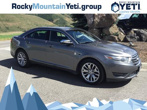 2013 Ford Taurus for sale in Afton, WY