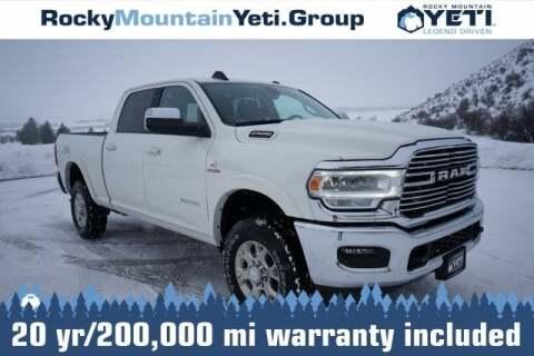 2019 RAM Ram Pickup 2500 Laramie for sale at Rocky Mountain Yeti Afton in Afton WY