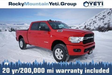 2020 RAM Ram Pickup 2500 Big Horn for sale at Rocky Mountain Yeti Afton in Afton WY