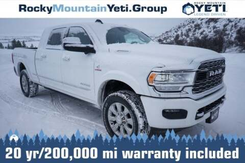 2019 RAM Ram Pickup 3500 Limited for sale at Rocky Mountain Yeti Afton in Afton WY