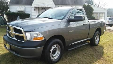 2010 Dodge Ram Pickup 1500 for sale at Motorsport Garage in Neshanic Station NJ