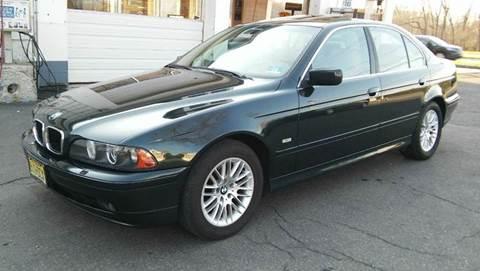 2001 BMW 5 Series for sale at Motorsport Garage in Neshanic Station NJ
