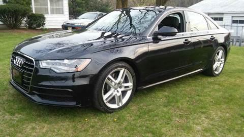 2014 Audi A6 for sale at Motorsport Garage in Neshanic Station NJ