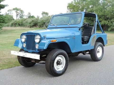 1978 Jeep CJ-5 for sale at Motorsport Garage in Neshanic Station NJ