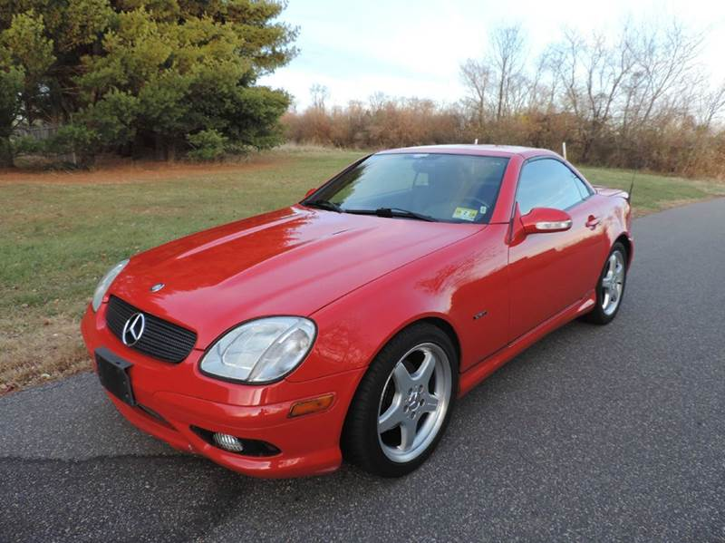 2002 Mercedes Benz Slk Slk230 Kompressor 2dr Convertible In Neshanic