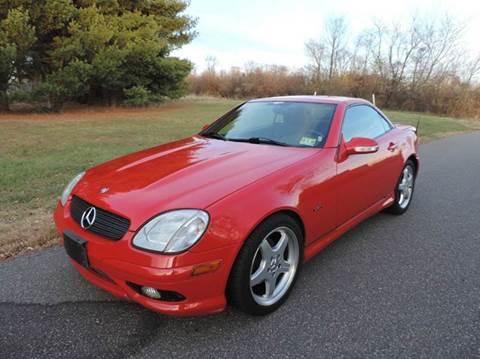 2002 Mercedes-Benz SLK for sale at Motorsport Garage in Neshanic Station NJ