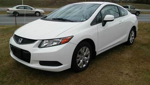 2012 Honda Civic for sale at Motorsport Garage in Neshanic Station NJ