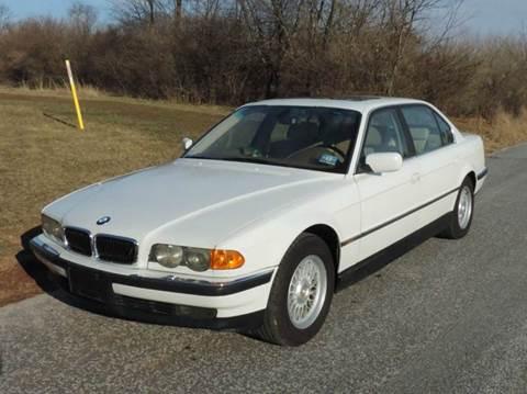 2000 BMW 7 Series for sale at Motorsport Garage in Neshanic Station NJ