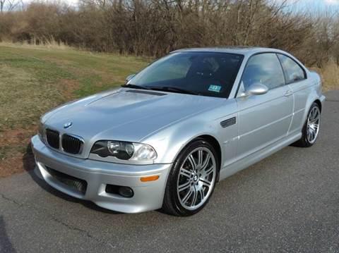2003 BMW M3 for sale at Motorsport Garage in Neshanic Station NJ