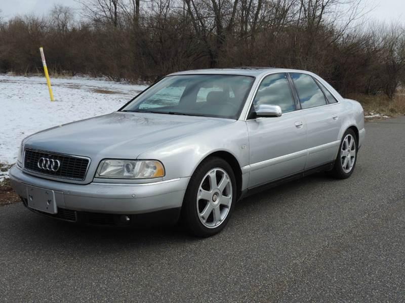 2001 Audi S8 for sale at Motorsport Garage in Neshanic Station NJ