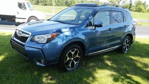 2015 Subaru Forester for sale at Motorsport Garage in Neshanic Station NJ