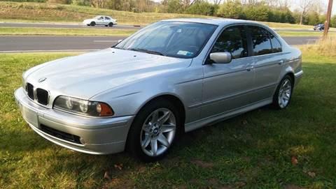2003 BMW 5 Series for sale at Motorsport Garage in Neshanic Station NJ