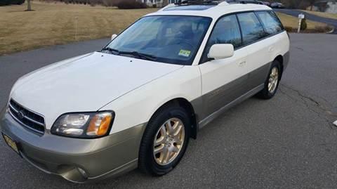 2001 Subaru Outback for sale at Motorsport Garage in Neshanic Station NJ