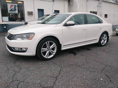 2014 Volkswagen Passat for sale at Motorsport Garage in Neshanic Station NJ