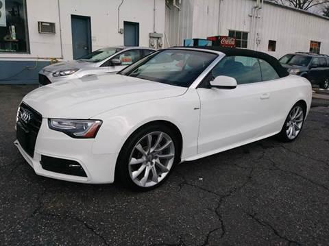 2015 Audi A5 for sale at Motorsport Garage in Neshanic Station NJ