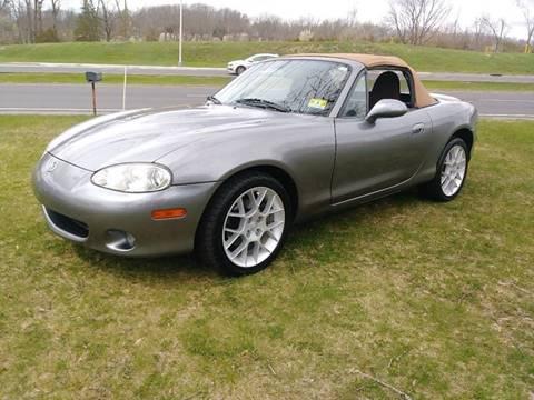 2002 Mazda MX-5 Miata for sale at Motorsport Garage in Neshanic Station NJ