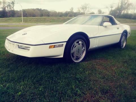 1989 Chevrolet Corvette for sale at Motorsport Garage in Neshanic Station NJ