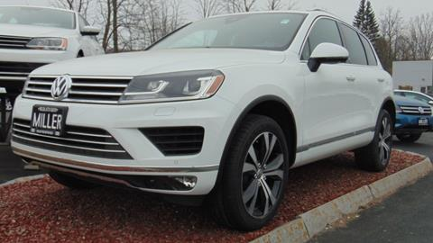 2017 Volkswagen Touareg for sale in Lebanon, NH